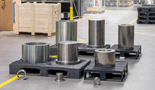 Big, bigger, DST – Manufacturer of permanent magnetic couplings produced biggest and heaviest magnetic coupling and the biggest double wall canister